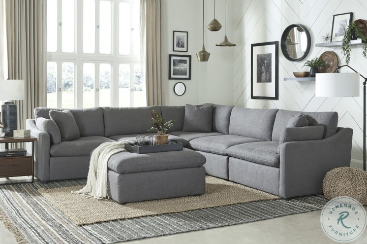 Howerton Gray Sectional