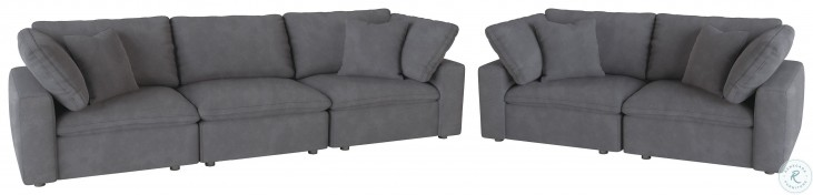 Guthrie Gray Living Room Set