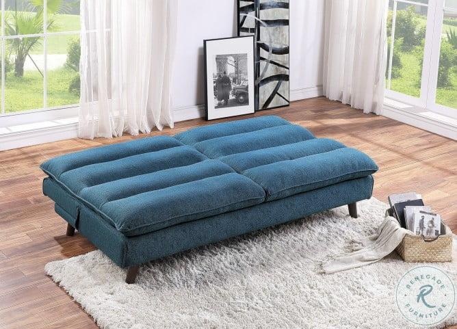 Mackay Blue Elegant Lounger
