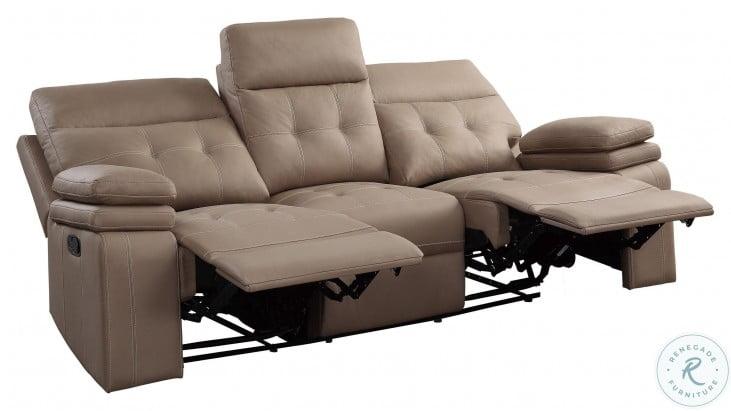Millington Brown Double Reclining Sofa