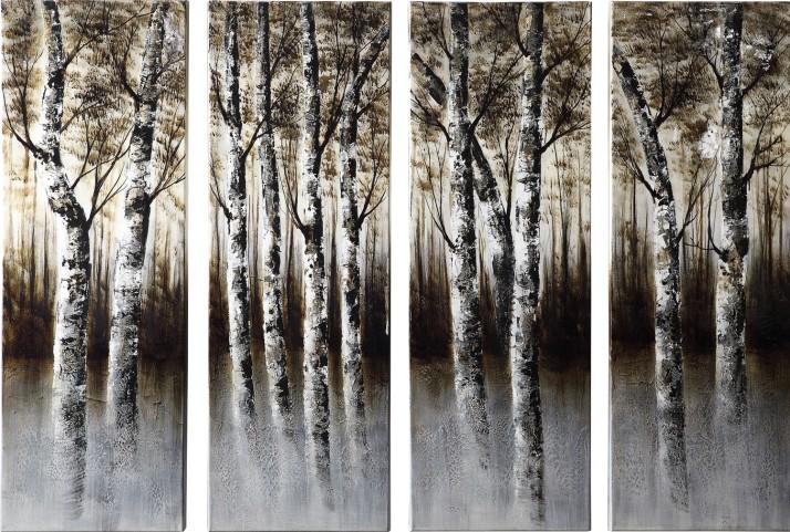 Through the Woods Wall Art 4 Piece Set