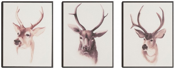 Wall Art With Frame Set of 3