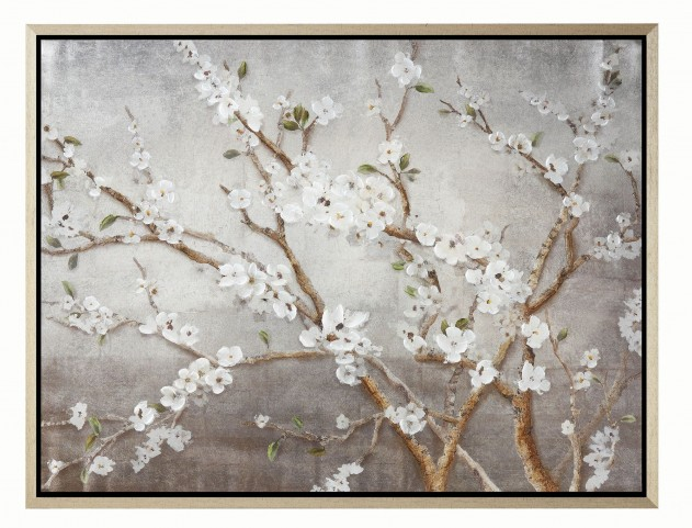 White and Brown Frame Wall Art