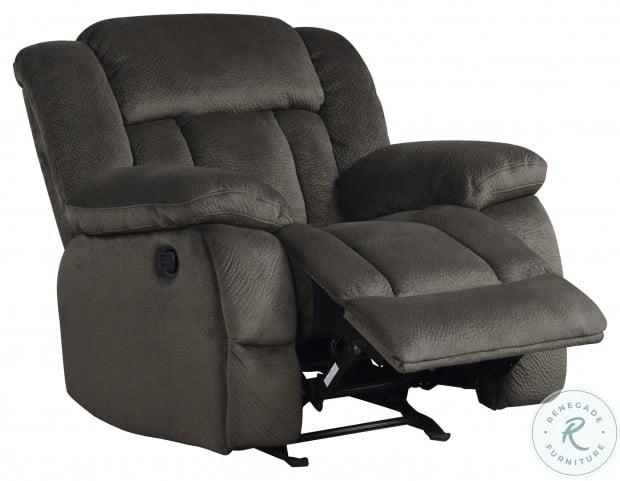 Laurelton Chocolate Glider Reclining Chair