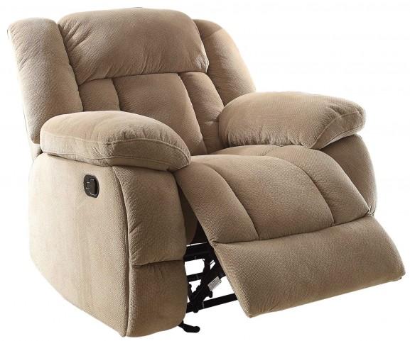 Laurelton Taupe Glider Reclining Chair