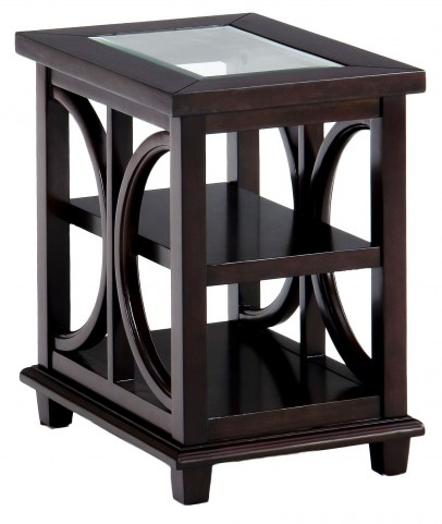 Panama Brown Chairside Table