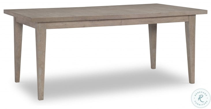 Milano Sandstone Extendable Rectangle Leg Dining Table By Rachael Ray