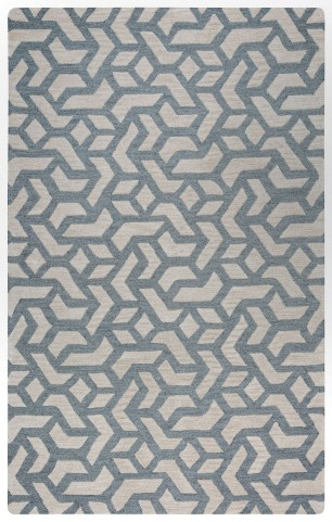Gray and Beige Hampton Large Rug