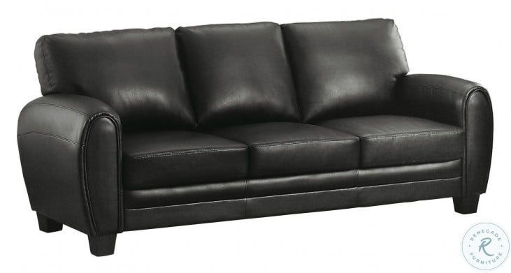 Rubin Black Sofa