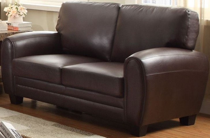 Rubin Dark Brown Loveseat