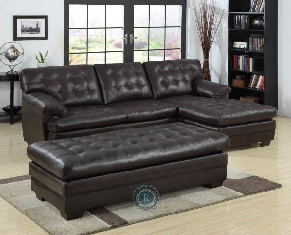 Brooks Dark Brown Sectional
