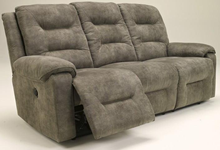 Rotation Smoke Reclining Sofa From Ashley 9750188