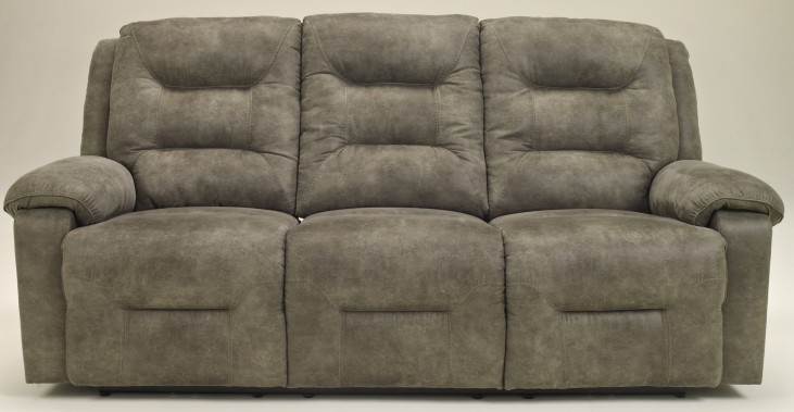 Rotation Smoke Reclining Power Sofa