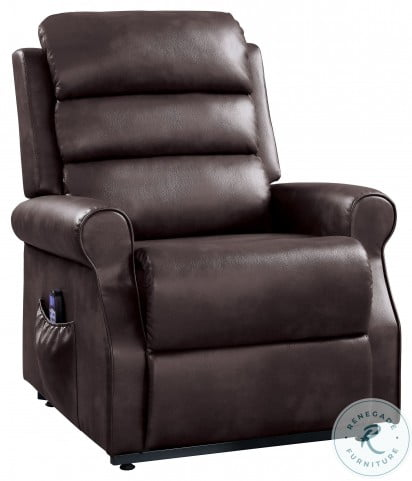 Jareth Brown Power Lift Chair With Massage And Heat