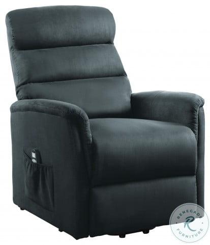 Miralina Gray Power Lift Chair With Massage And Heat