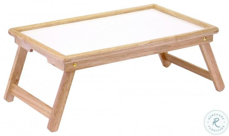 Stockton Natural White Breakfast Bed Tray