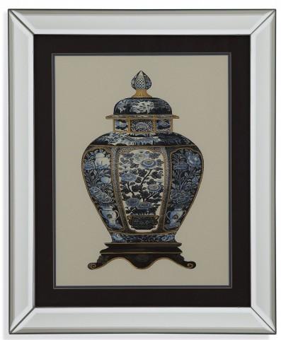 Blue Porcelain Vase I Wall Art