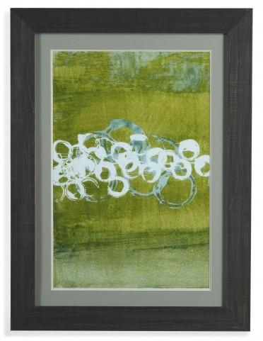 Green Orbs I Wall Art