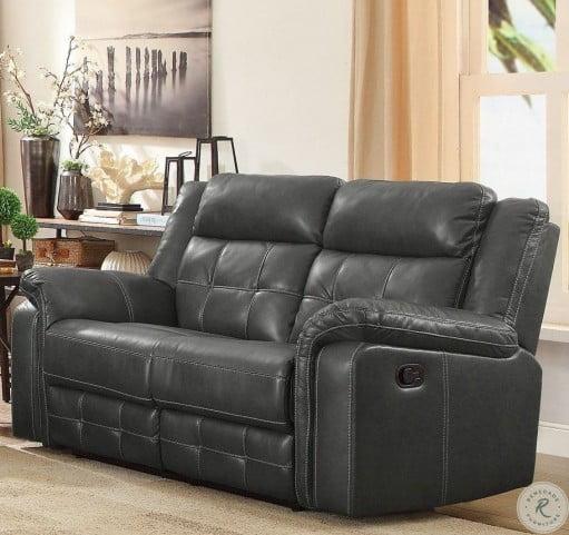 Enjoyable Keridge Gray Double Reclining Loveseat Inzonedesignstudio Interior Chair Design Inzonedesignstudiocom