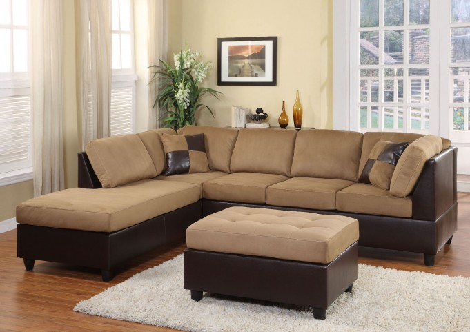 Comfort Living Left Arm Facing Sectional