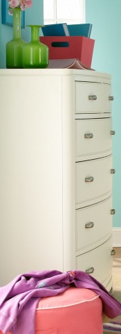 Park City White Drawer Chest