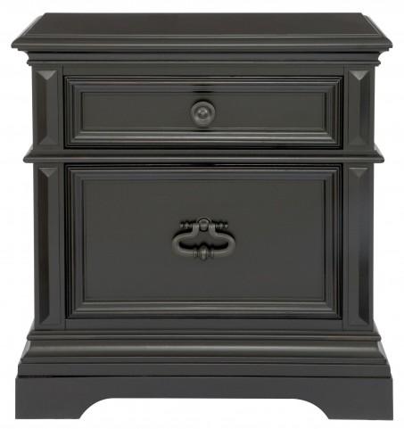 Brookfield Antique Black Nightstand