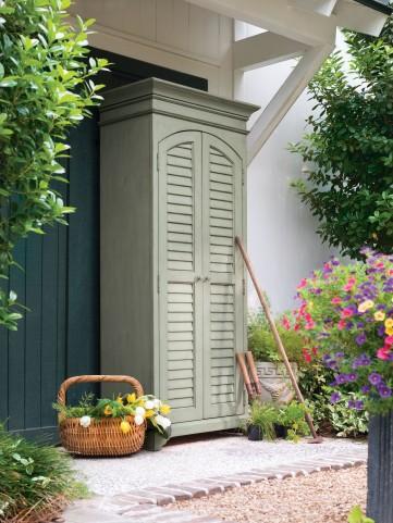 Paula Deen Home Spanish Moss Utility Cabinet