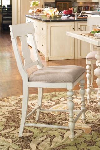 Paula Deen Home Linen Counter Height Chair Set of 2