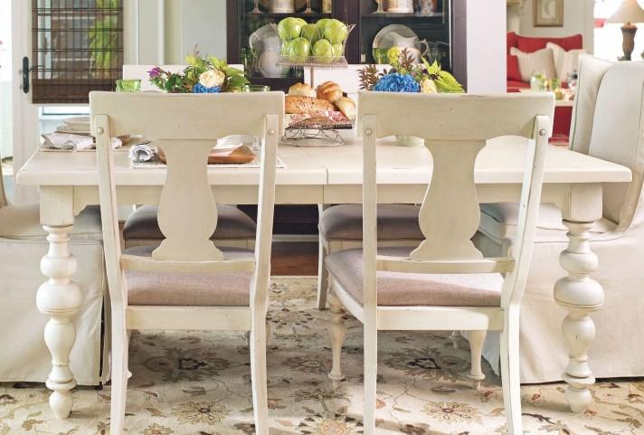 Paula Deen Home Linen Rectangular Extendable Dining Table