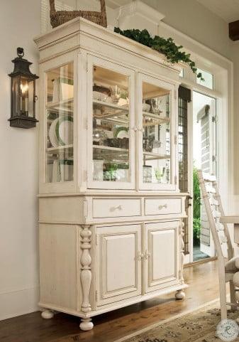Simple Office Room Design, Paula Deen Home Linen Buffet Hutch From Paula Deen 996680c Coleman Furniture