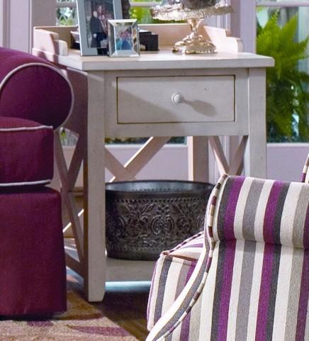 Paula Deen Home Linen Drawer End Table