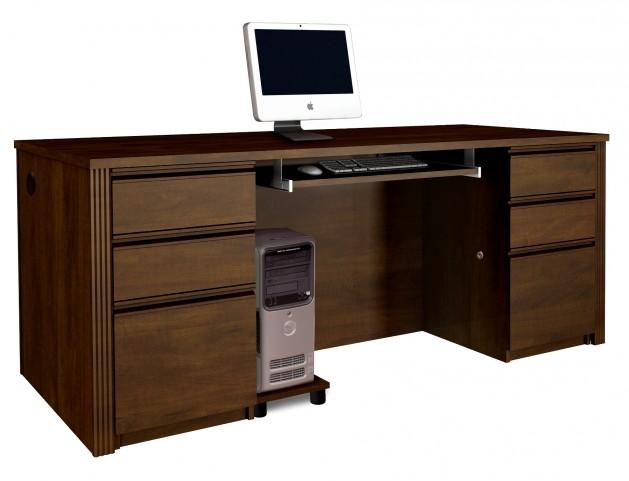 Prestige Plus Executive Desk Kit In Chocolate
