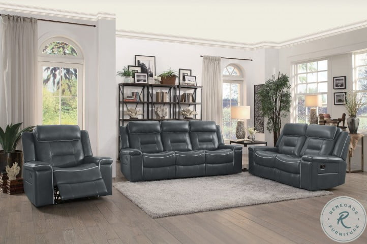 Darwan Dark Gray Lay Flat Reclining Chair