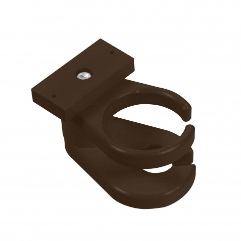 Generations Chocolate Adirondack Chair Cup and Wine Holder Combo