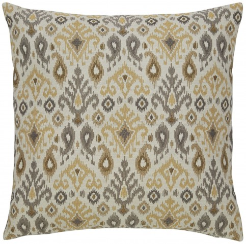 Damarion Taupe and Gold Pillow