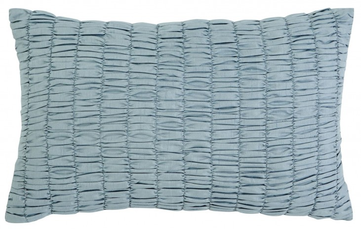 Stitched Navy Pillow Set of 4