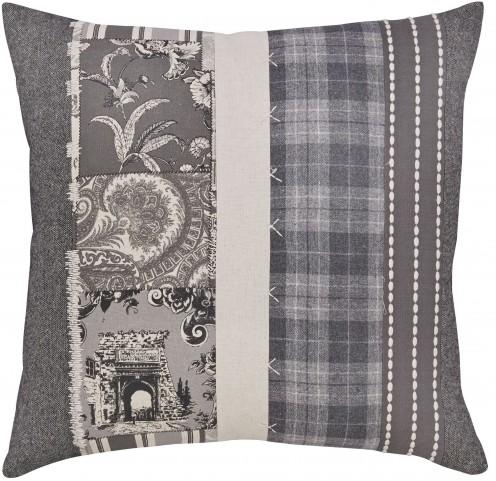 Avinoam Natural and Gray Pillow