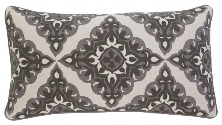 Geometric Gray Pillow Set of 4