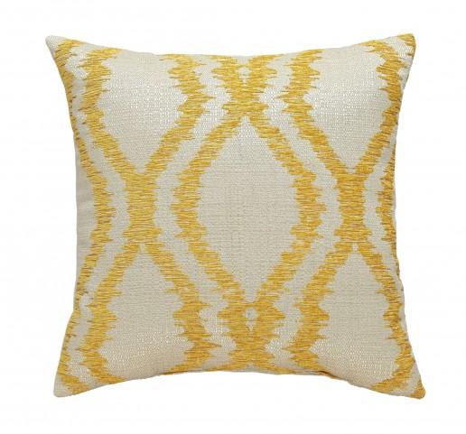Estelle Yellow Pillow Set of 4