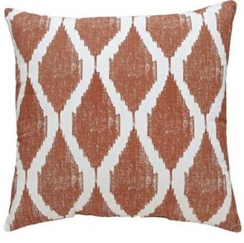 Bruce Orange Pillow Set of 4