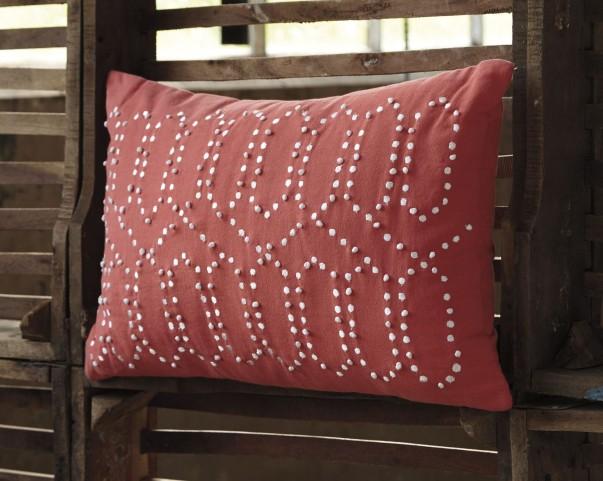 Simsboro Coral Pillow Set of 4