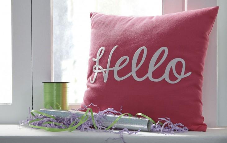 Shapeleigh Pink Pillow Set of 4