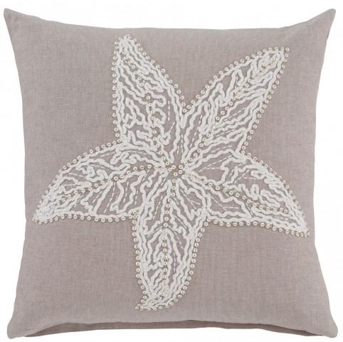 Anshel Natural Starfish Design Pillow Cover Set of 4