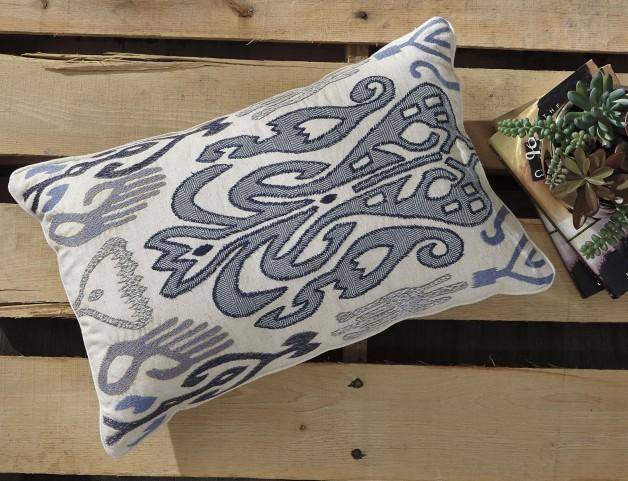 Orono Blue Pillow Set of 4