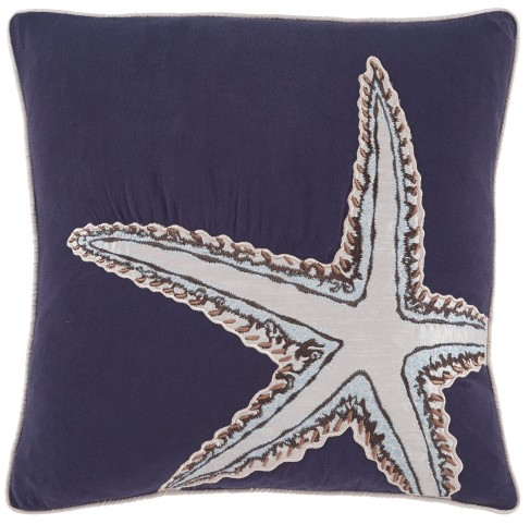Langor Navy Pillow Cover Set of 4