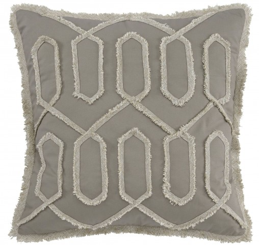 Stonington Khaki Pillow Cover Set of 4