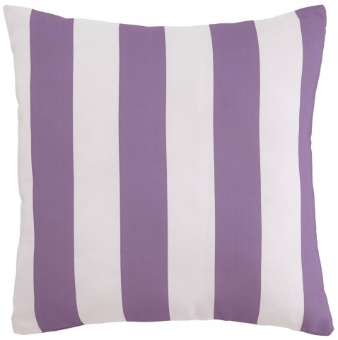 Hutto White and Lavender Pillow Set of 4