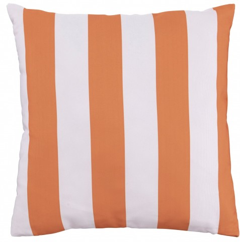 Hutto Orange and White Pillow Set of 4