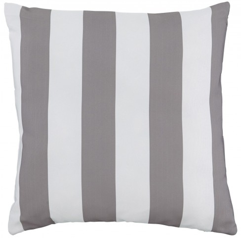 Hutto Gray and White Pillow Set of 4