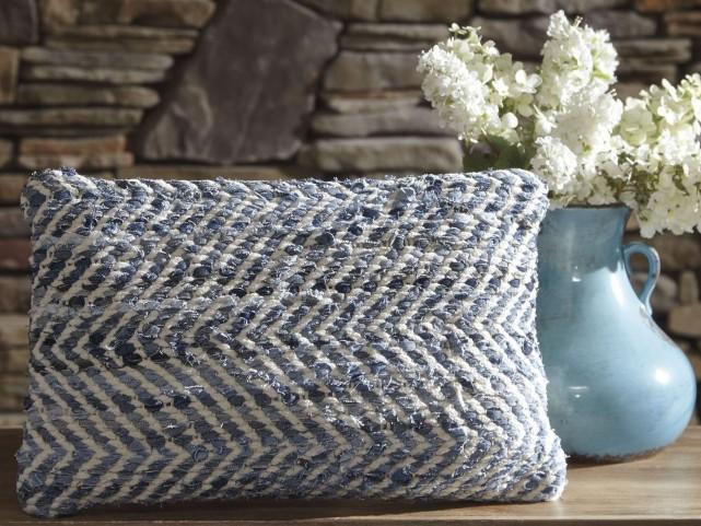 Argos Blue and White Pillow Set of 4